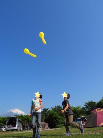 やまぼうしオートキャンプ場, 富士山