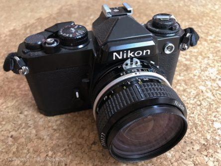Nikon FE, New Nikkor 28mm F3.5