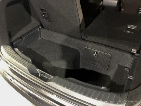マツダ CX-8 荷室 ラゲッジルーム サブトランク