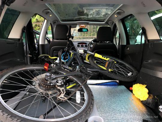 プジョー308SW, 自転車, マウンテンバイク