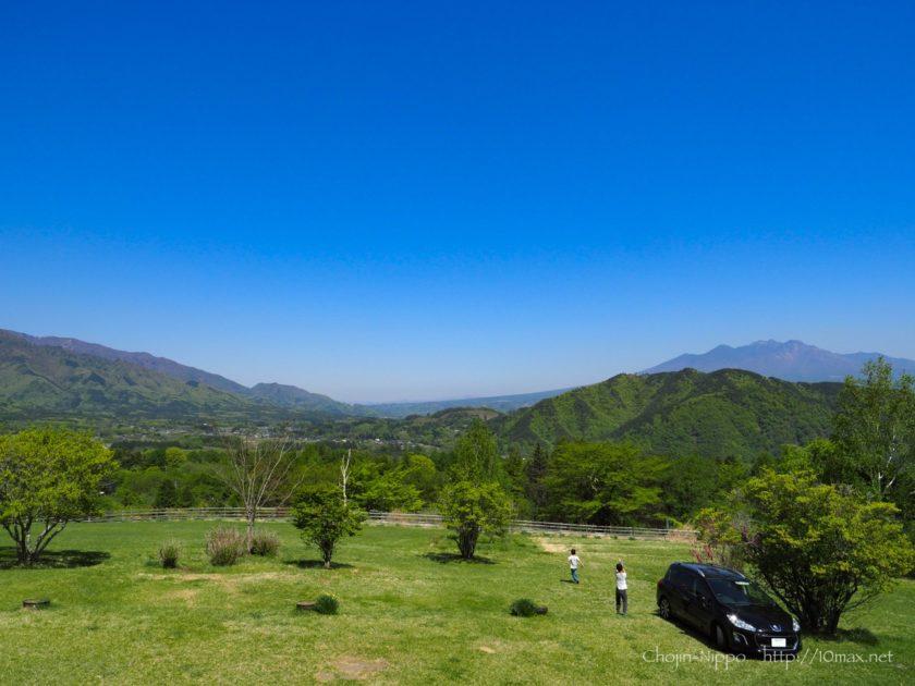 オートキャンプ牧場チロル 絶景 八ヶ岳
