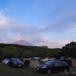 朝霧ジャンボリーオートキャンプ場, プジョー308SW, 富士山
