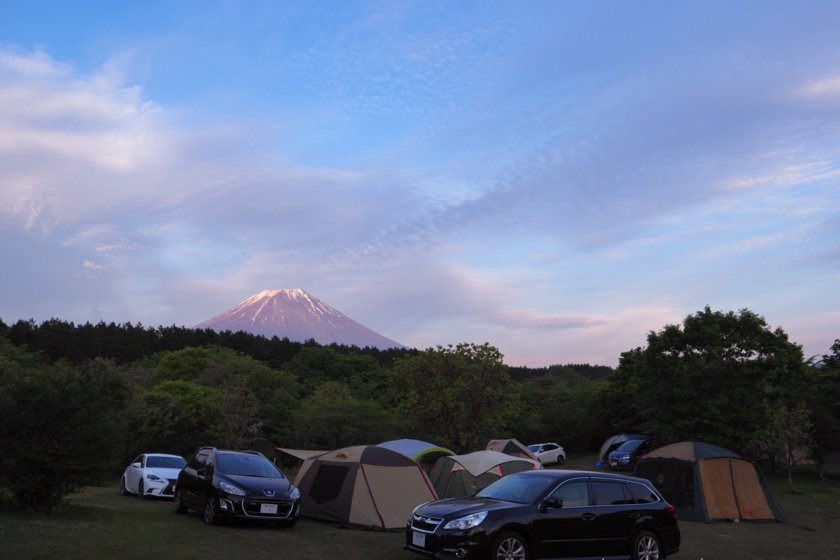 今度こそ富士山ガッツリの朝霧ジャンボリー2/3 | GENTOS LEDランタンSOL-013Cレビュー