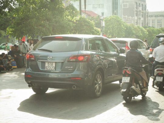 ベトナム, ホーチミン, グエンフエ通り, Vietnam, Ho chi minh, Mazda, マツダ, CX-9