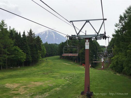 ふじてん, MTB, 富士山