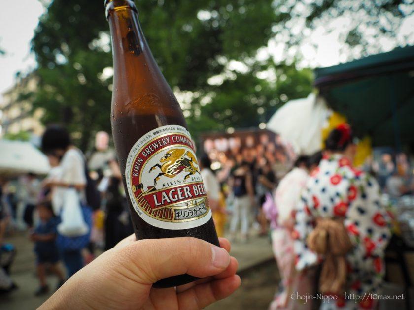 祭り, ビール