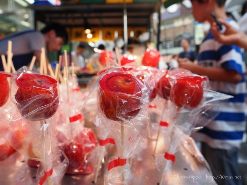 りんご飴 祭