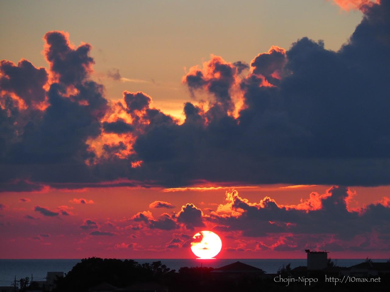 石垣島 だるま夕日