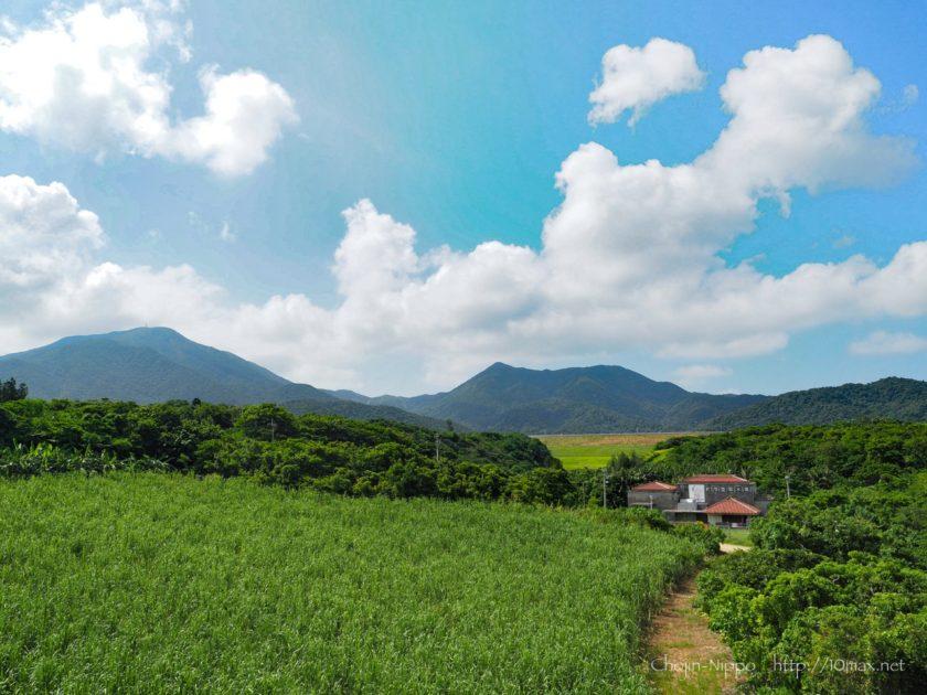 石垣島 於茂登岳