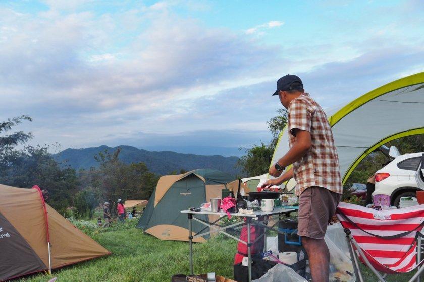 秋のオートキャンプ牧場チロル Part 1/2