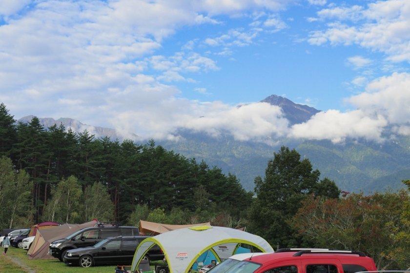 秋のオートキャンプ牧場チロル Part 2/2