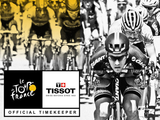 TISSOT Le Tour de France Official Timekeeper