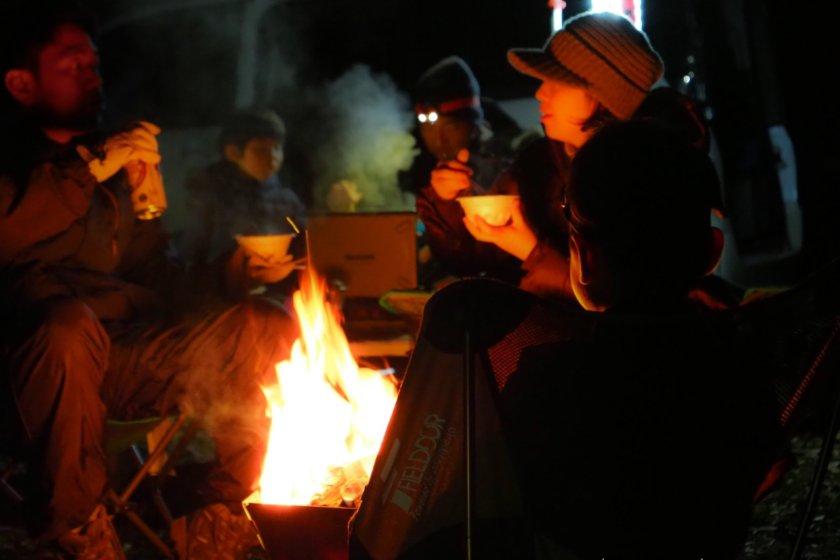 かずさオートキャンプ場で冬キャンプ事始め Part 2/3