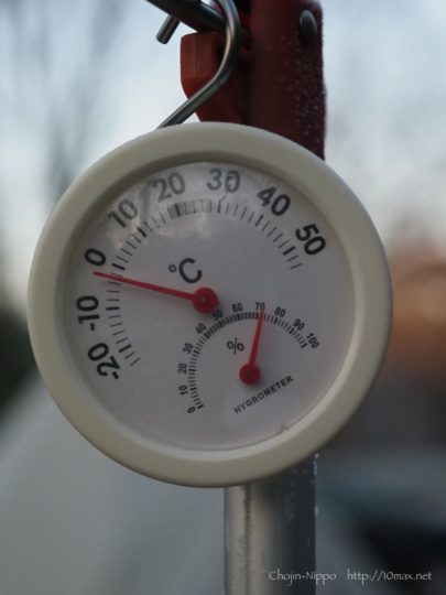 冬キャンプ 零下
