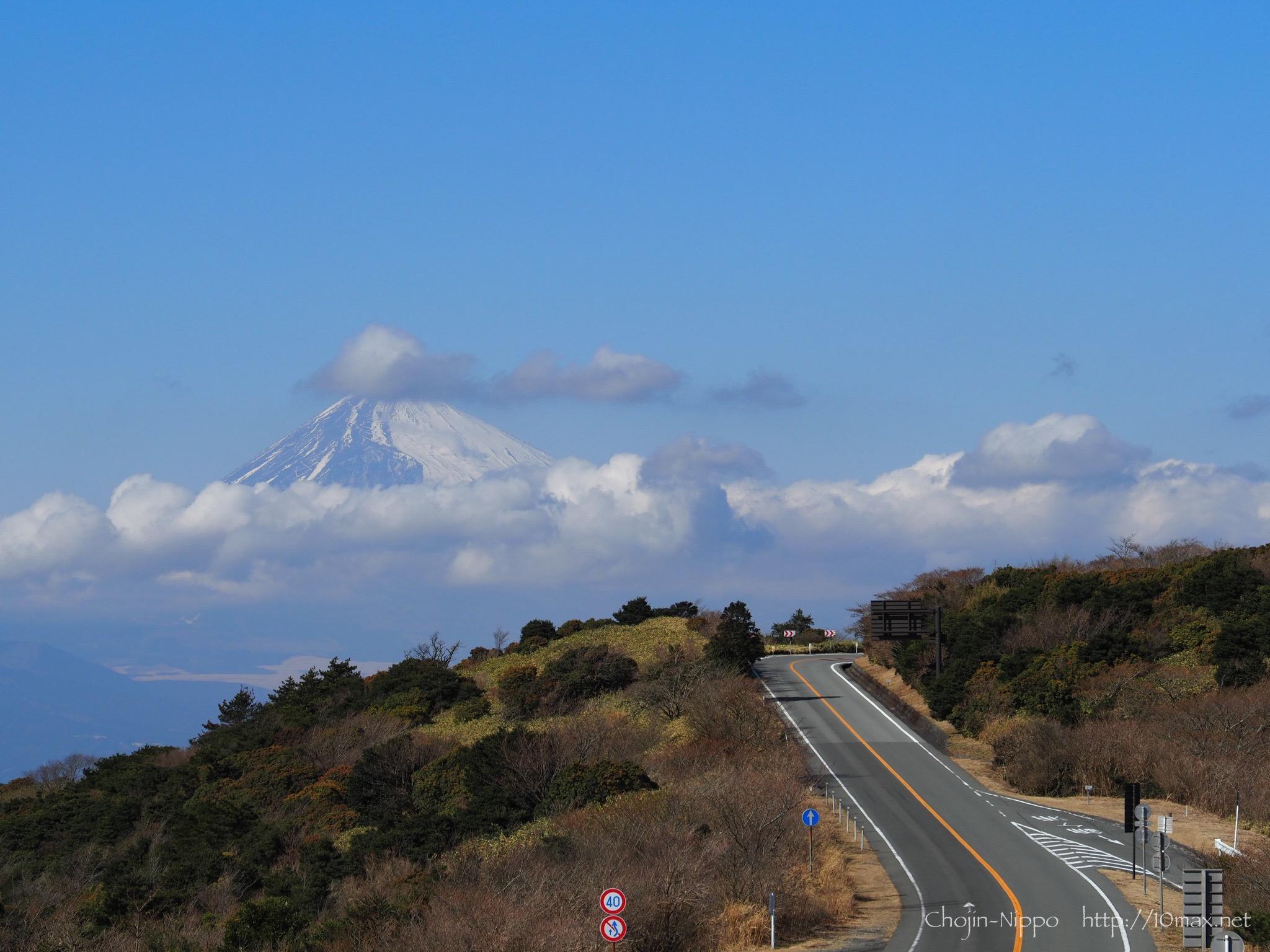伊豆スカイライン 富士山 玄岳IC