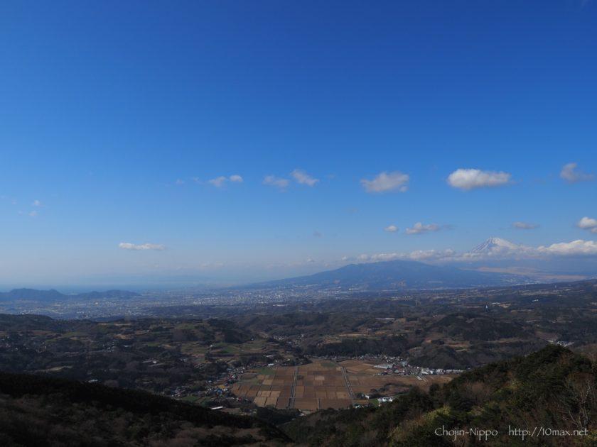 伊豆スカイライン 富士山 玄岳IC 駿河湾
