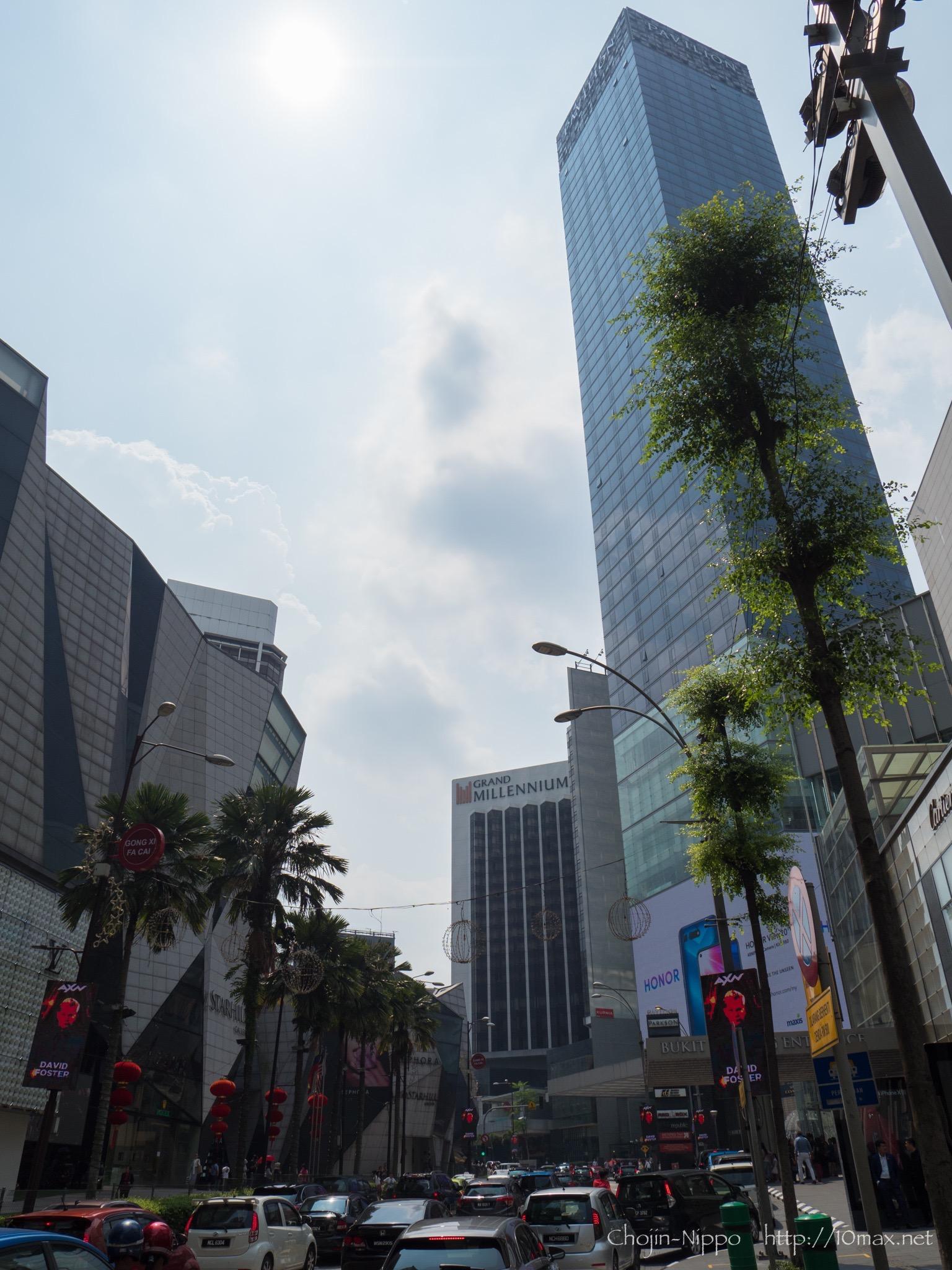 クアラルンプール Bukit Bintang ブキッビンタン
