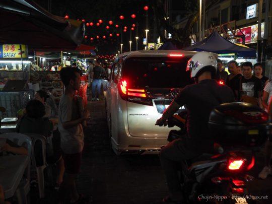 Jalan Alor アロー通り クアラルンプール