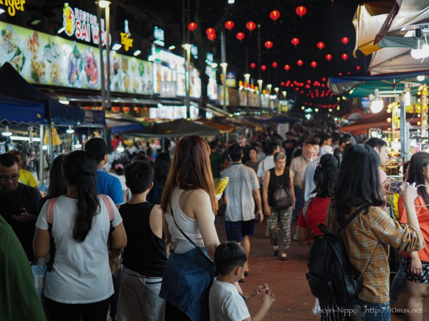 Jalan Alor アロー通り クアラルンプール E-M1 Mark II LEICA DG SUMMILUX 25mm / F1.4 ASPH.
