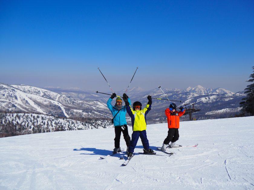 志賀高原スキー場 寺子屋スキー場