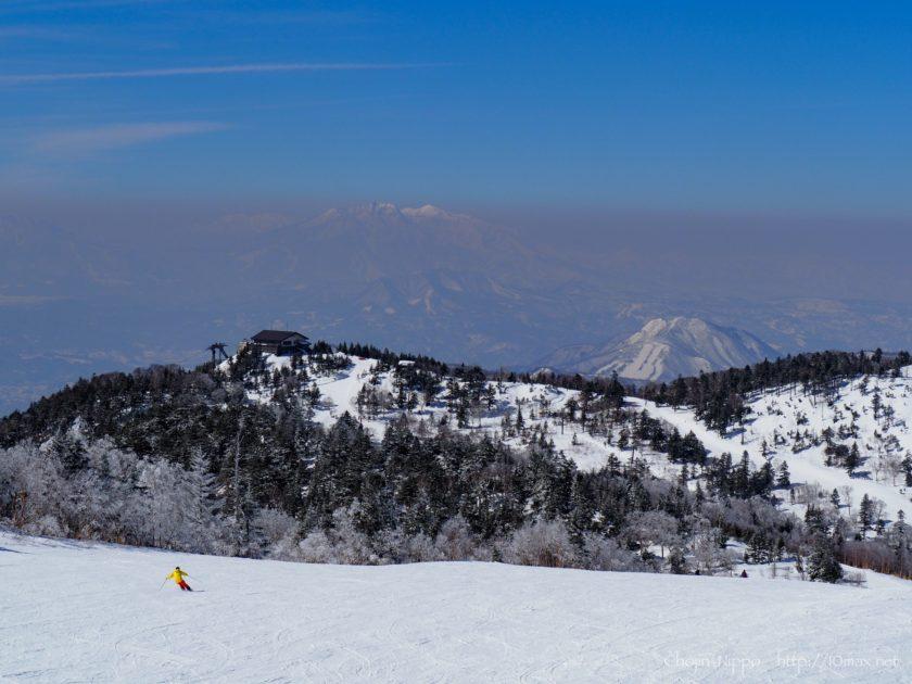 志賀高原 寺子屋スキー場 妙高山