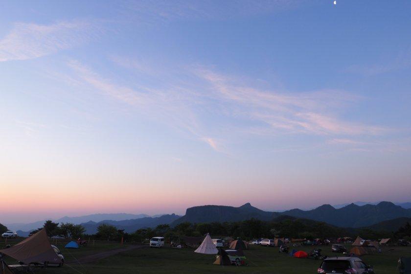 天空の草原 − 内山牧場キャンプ場 Part 3/3