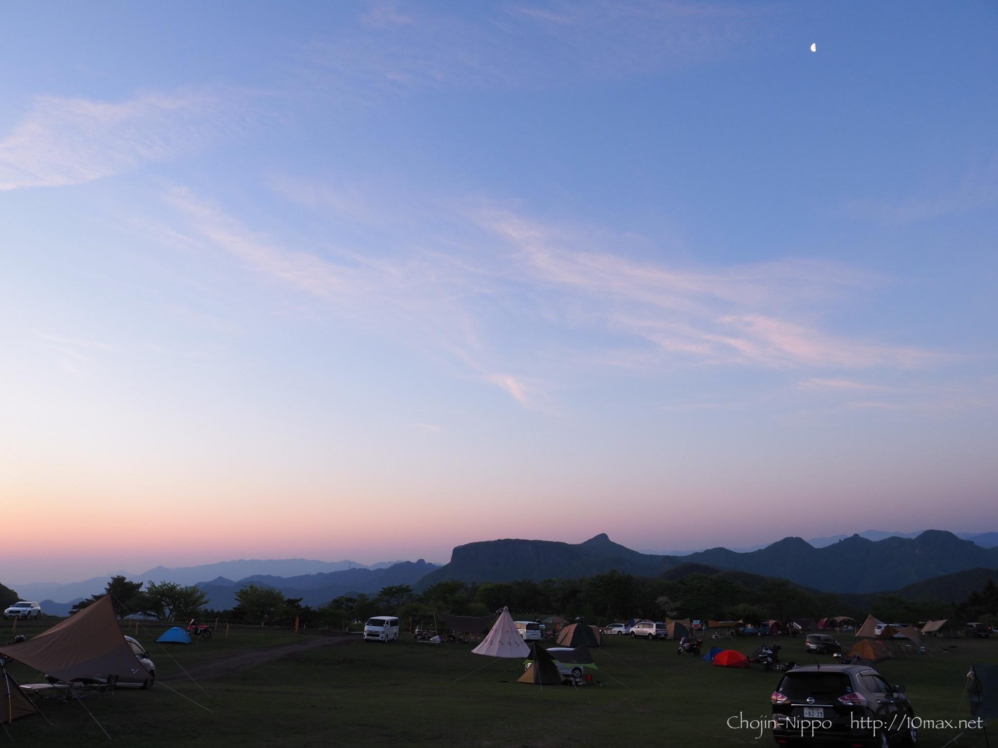 内山牧場キャンプ場 荒船山