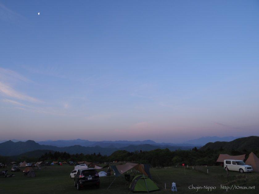内山牧場キャンプ場 八ヶ岳