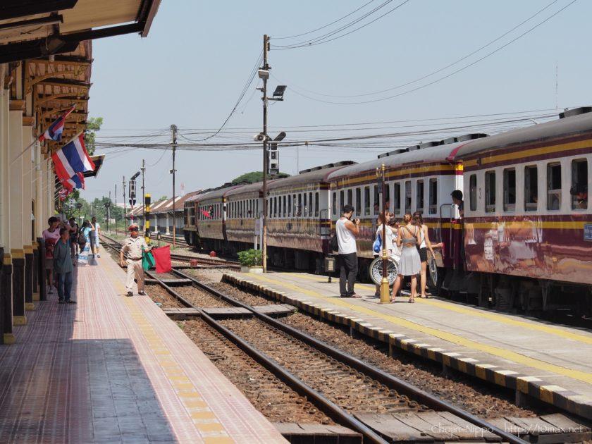 アユタヤ駅 タイ国有鉄道