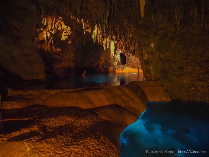 沖縄 琉球村 玉泉洞 鍾乳洞