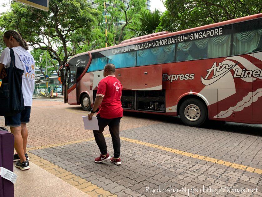 シンガポール マラッカ マレーシア 長距離バス