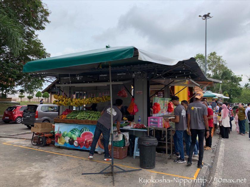 シンガポール マレーシア マラッカ 長距離バス サービスエリア