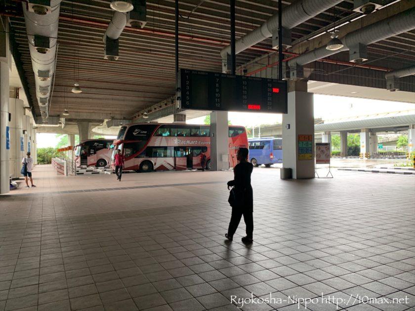 シンガポール マレーシア マラッカ 長距離バス
