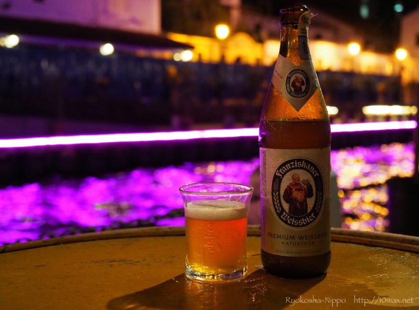 マラッカ川 レストラン カフェ イルミネーション ビール