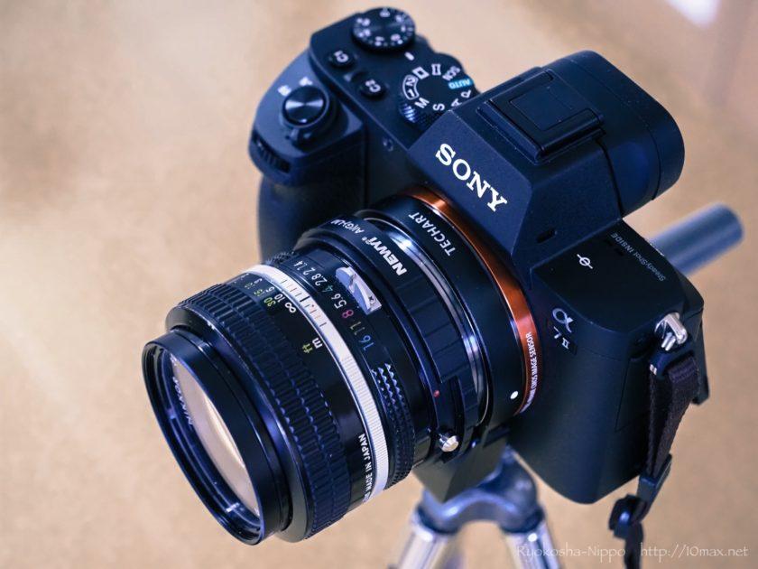 LM-EA7 レビュー α7II New Nikkor 50mm F1.4S
