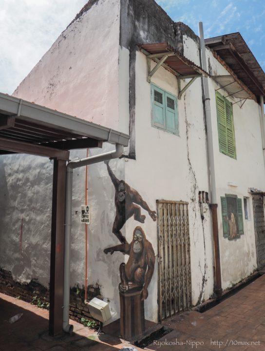 マレーシア マラッカ ストリートアート ウォールアート