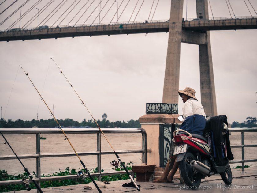 ベトナム ミトー メコン川 長距離路線バス