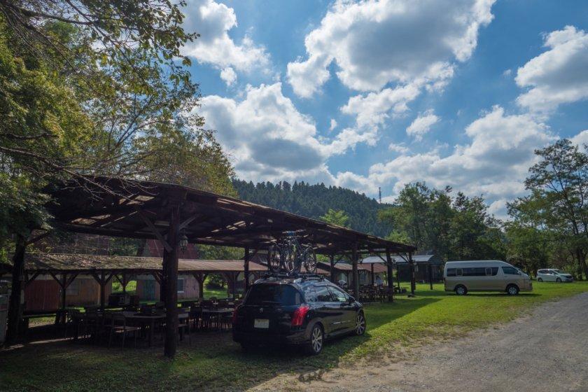 上小川キャンプ場で川遊びコテージキャンプ ①1日目昼間