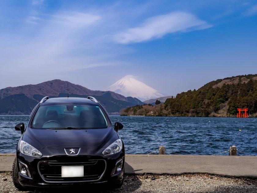 富士山 乙女峠 芦ノ湖 大観山 絶景 夜景 ドライブ 元箱根港