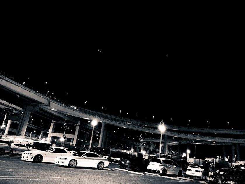 Volkswagen Passat Alltrack フォルクスワーゲン パサートオールトラック 首都高 大黒埠頭 大黒PA