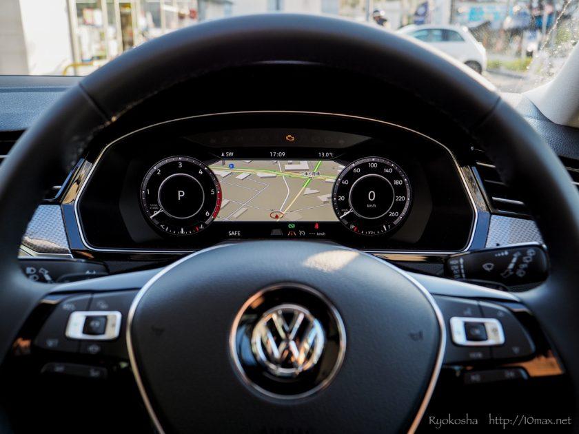 VW フォルクスワーゲン パサートオールトラック PassatAlltrack 運転席 コックピット アクティブインフォディスプレイ