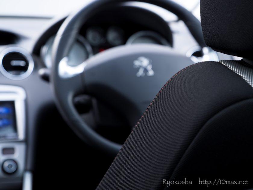 プジョー 308SW シート 運転席