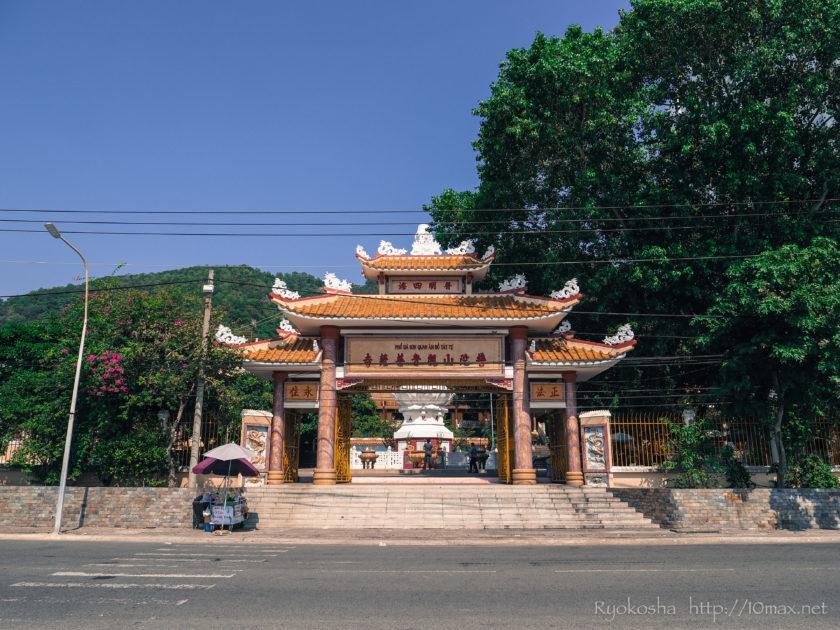 ベトナム ブンタウ ビーチ 仏教寺院 タウ寺 マリア教会 キリスト像