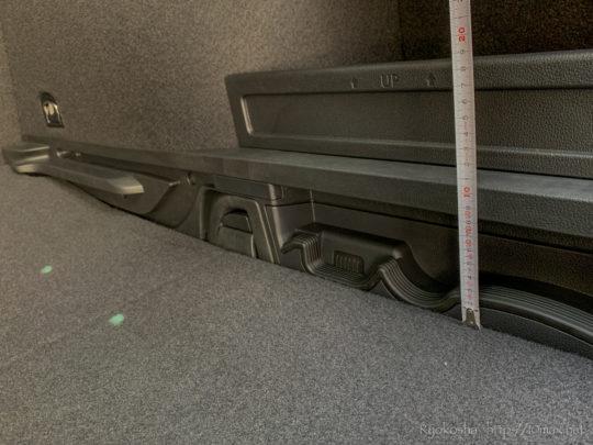 パサートオールトラック 荷室 ラゲッジ 寸法