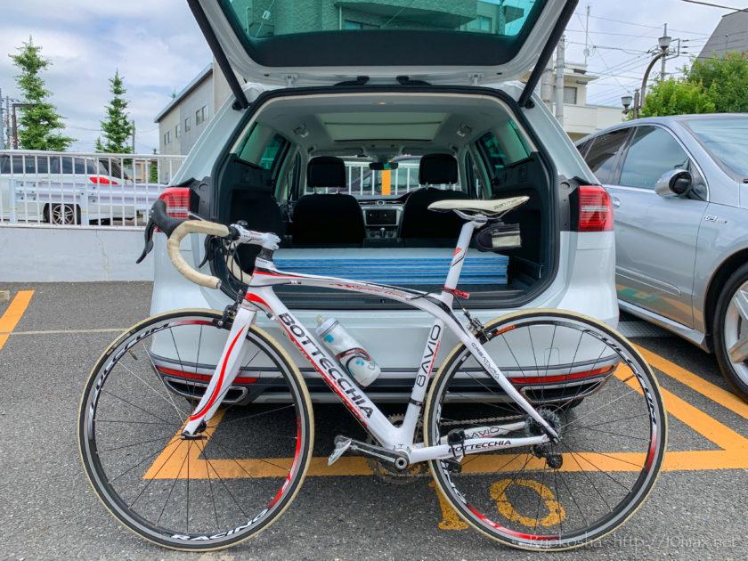パサートオールトラック 自転車 ロードバイク 荷室 積載