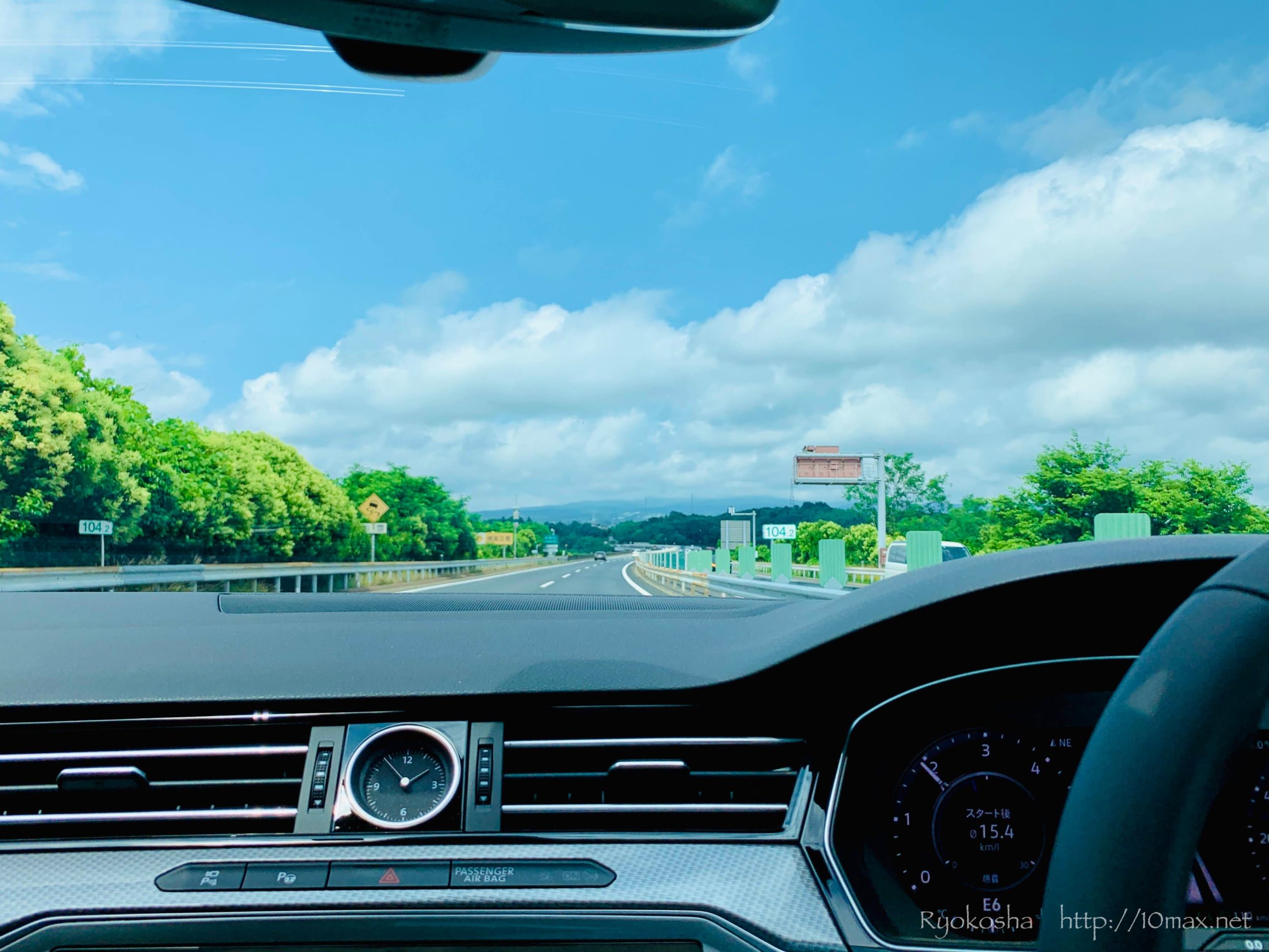 パサートオールトラック ロングツーリング 高速道路
