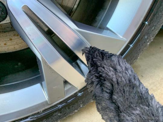 TARO WORKS ホイール リム 洗車ブラシ