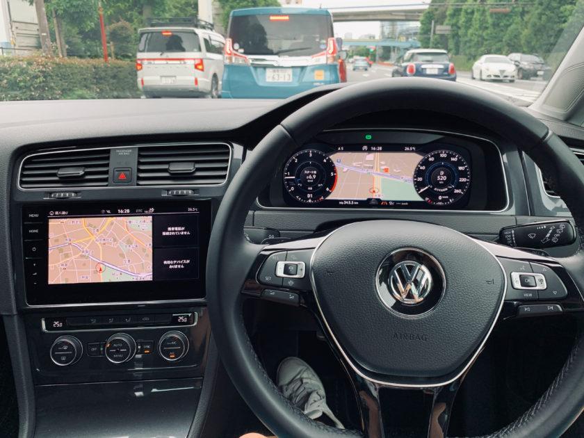 VW ゴルフ TDI 試乗