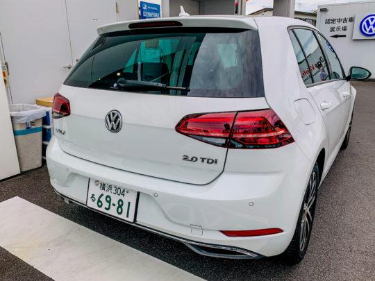VW ゴルフ TDI 外見 試乗