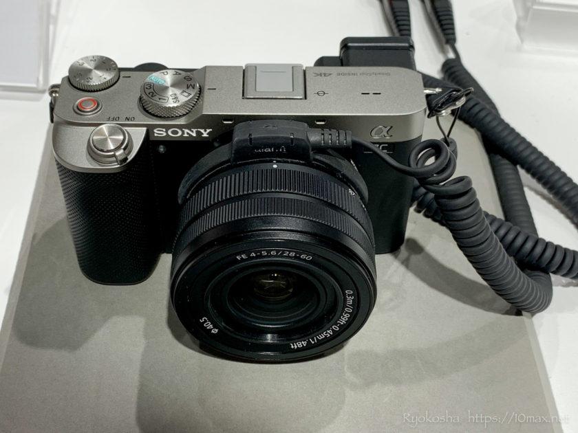 ソニー α7C FE 28-60mm F4-5.6(SEL2860) 実機